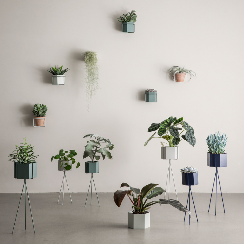 New plant stands and pots from ferm LIVING