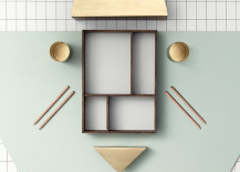 Office organizer tray from ferm LIVING