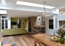 Open-plan-living-area-with-kitchen-and-dining-of-the-revamped-London-home-217x155