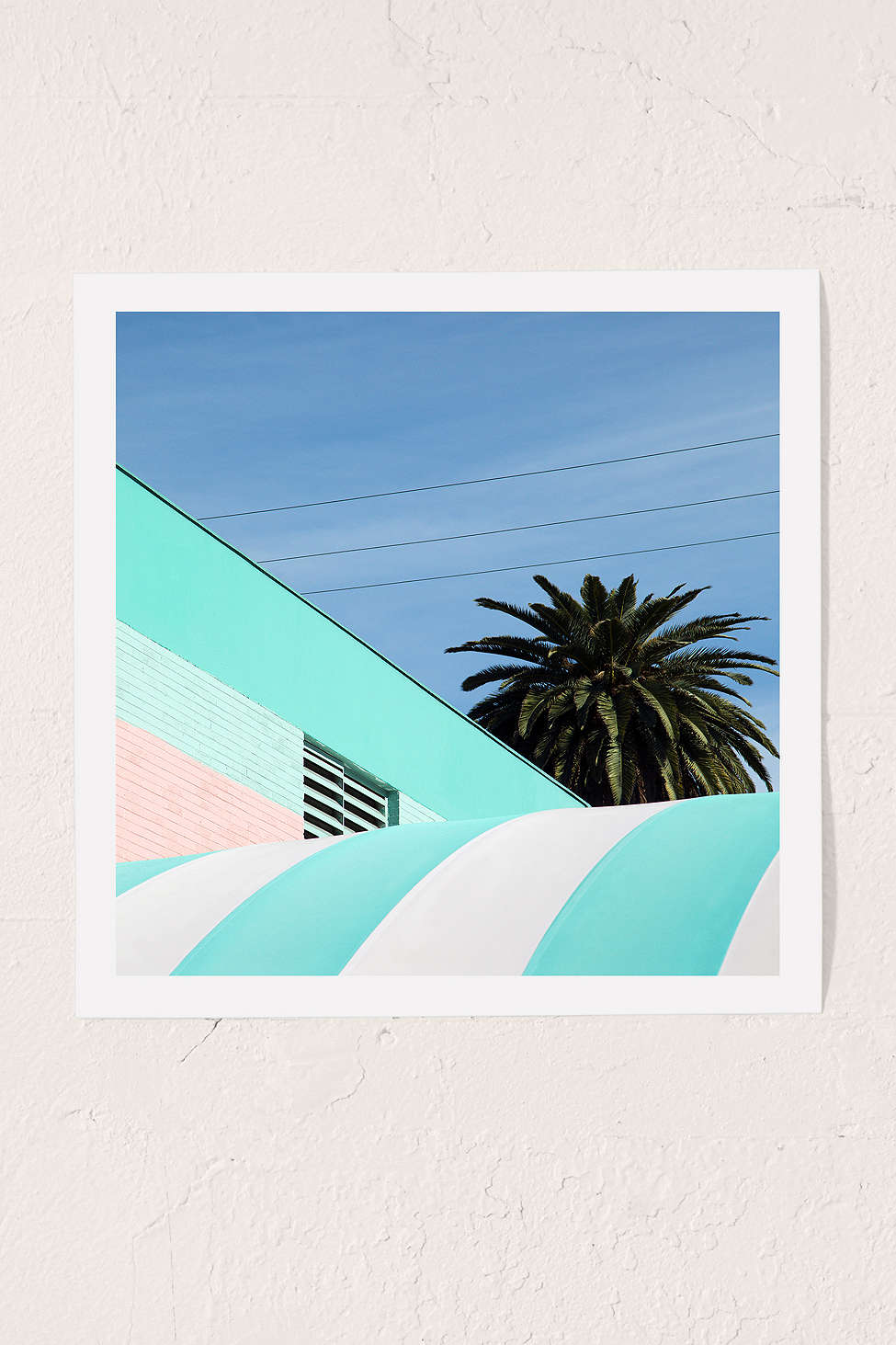 Palm print by George Byrne for Urban Outfitters