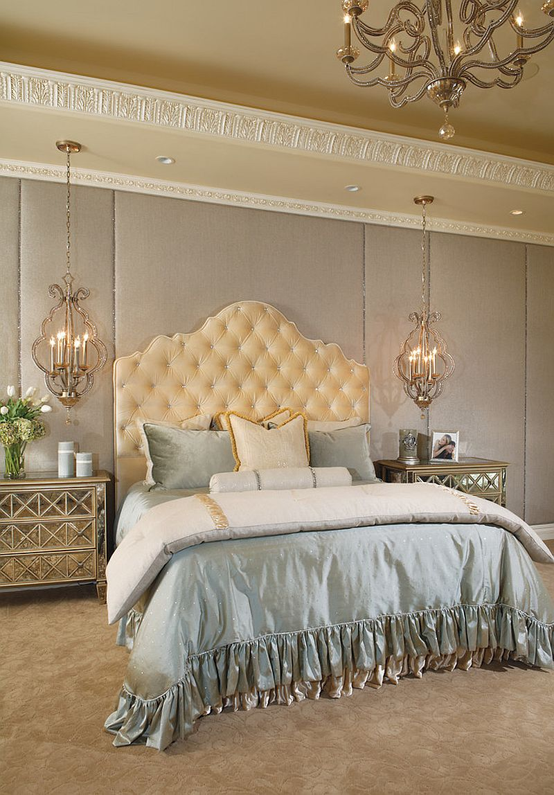 Plush Bed Is The Showstopper In This Lovely Bedroom Design Eagle Luxury Properties