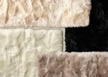 Sheepskin rugs from RH Teen