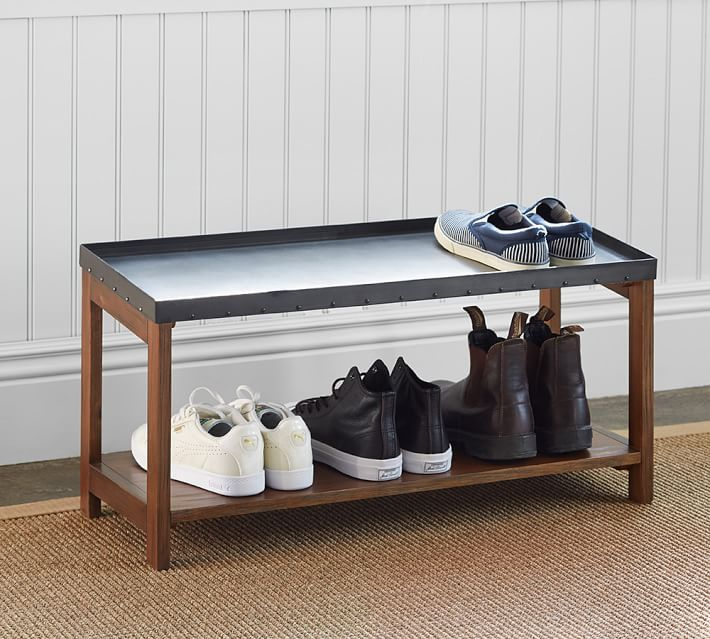 Shoe rack from Pottery Barn
