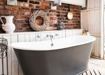 Soothing-rustic-bathroom-with-bathtub-in-gray-217x155