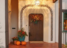 Spanish revival is a popular choice in restored homes