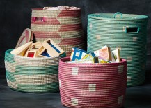 Storage baskets from The Land of Nod 217x155 Project Organization: Decor for Sorting, Stashing and Storing