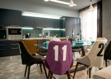 Stylish football player's apartment in Lviv
