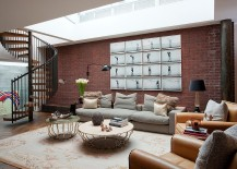 Transform the basement brick wall from dingy to dashing 217x155 20 Tantalizing Basements That Venture Beyond the Mundane