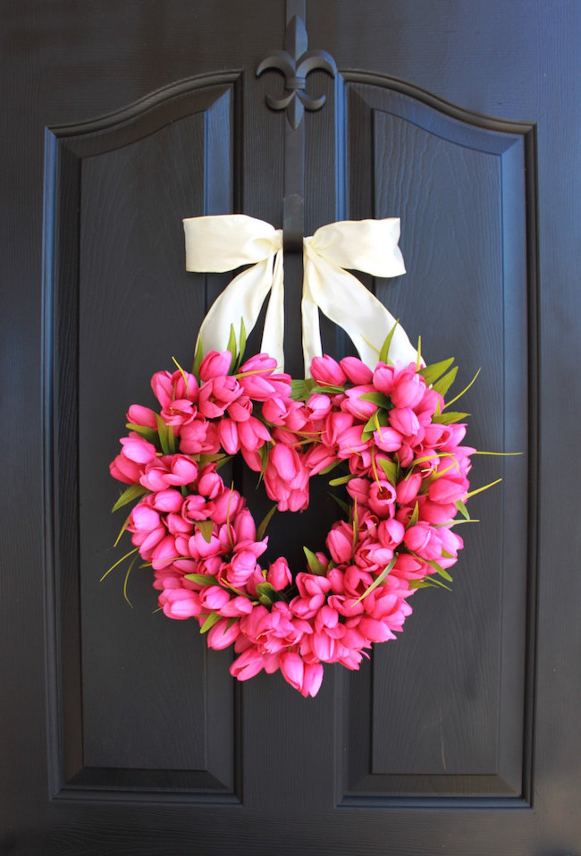 15 striking wreath ideas for valentine's day, Ideas