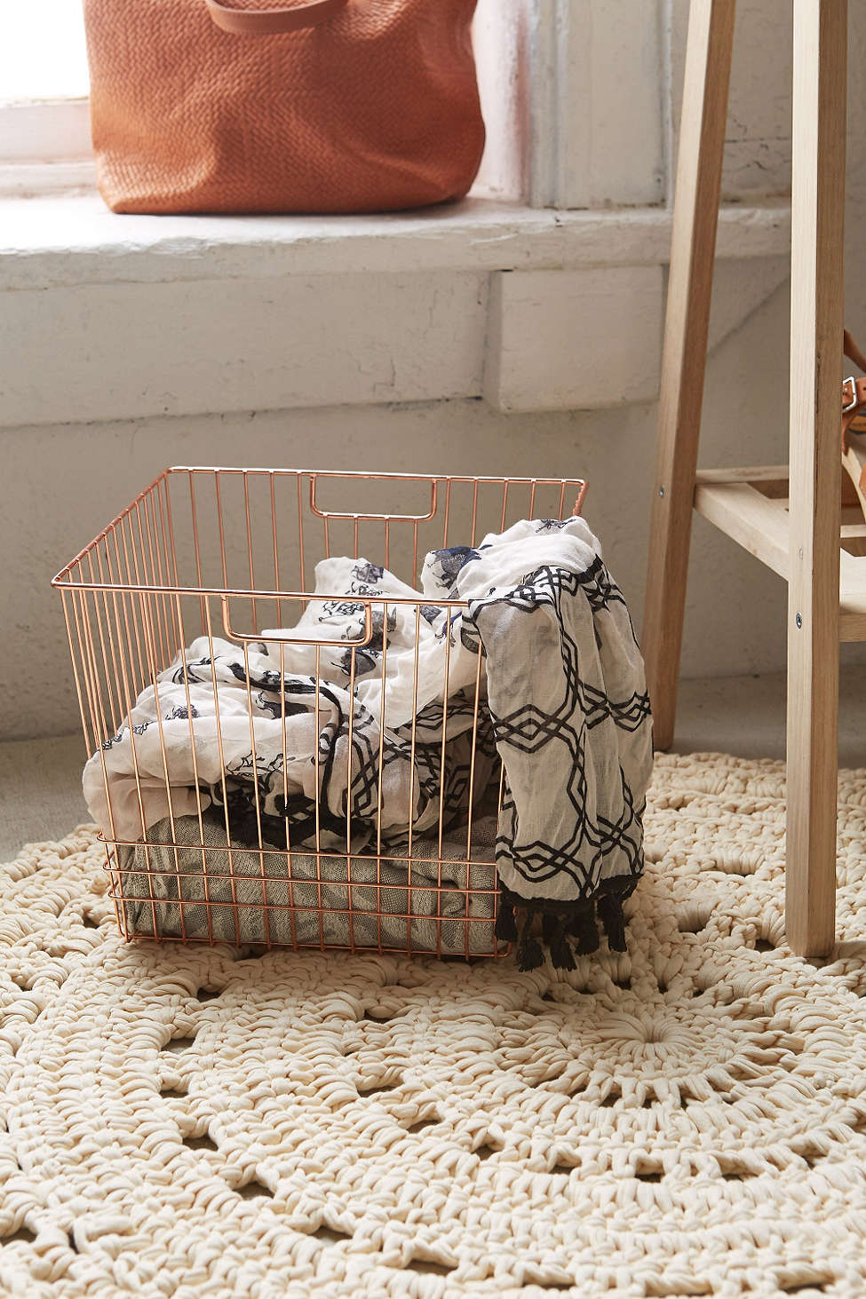 Wire basket from Urban Outfitters