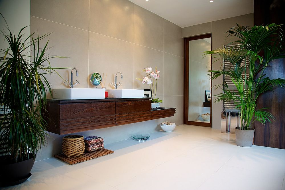 Bathroom Decor With Plants : Top bathroom trends set to make a big splash in