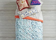 Abstract bedding from The Land of Nod