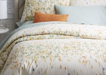 Abstract duvet cover from West Elm 217x155 How to Speed Clean Your Home in 15 Minutes