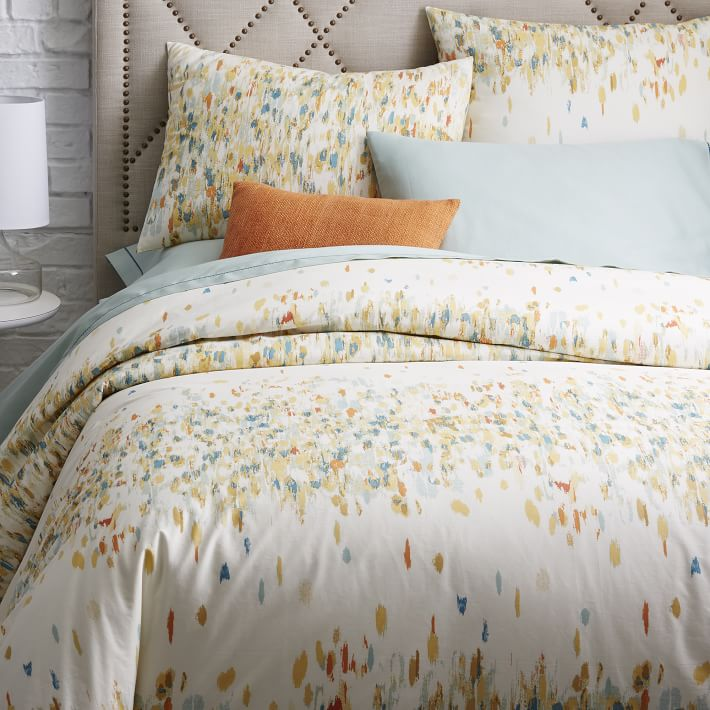 Abstract duvet cover from West Elm