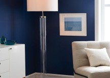 Acrylic floor lamp from West Elm
