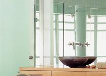 Bathroom-with-mint-mosaic-tiles-217x155