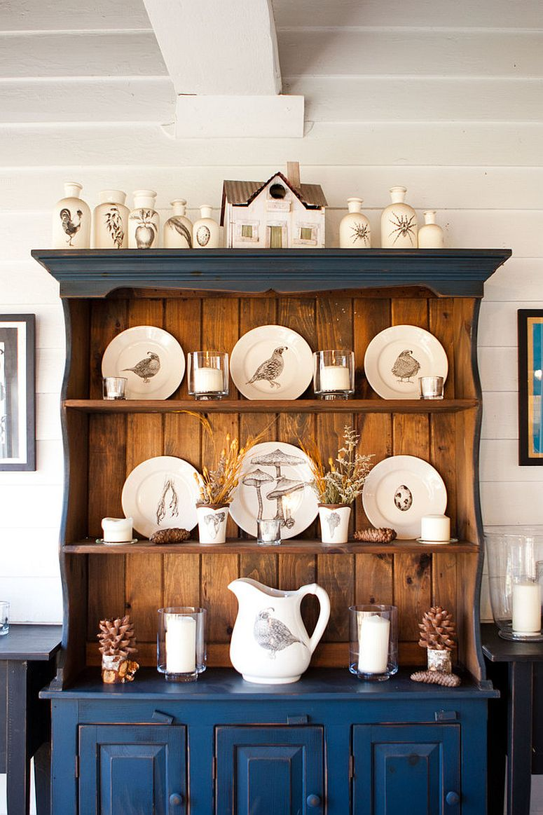 Beautiful Dining Room Hutch Combines Display And Storage Spaces Effortlessly From Tess Fine