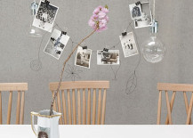 Binder clip photo display