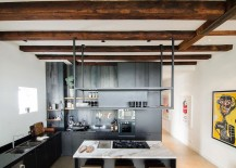 Bloemgracht Loft by Standard Studio in Amsterdam 217x155 Canal House Dating From the 1700s Transformed into an Open Modern Loft