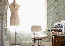Boho-chic-home-office-with-wallpapered-beauty-217x155