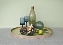 Bolling Tray Oak and Pear Green