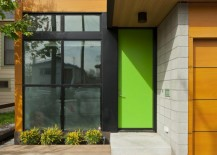 Bright green front door 217x155 7 Door Painting Mistakes to Avoid