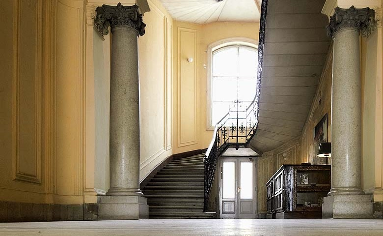 Brody House staircase