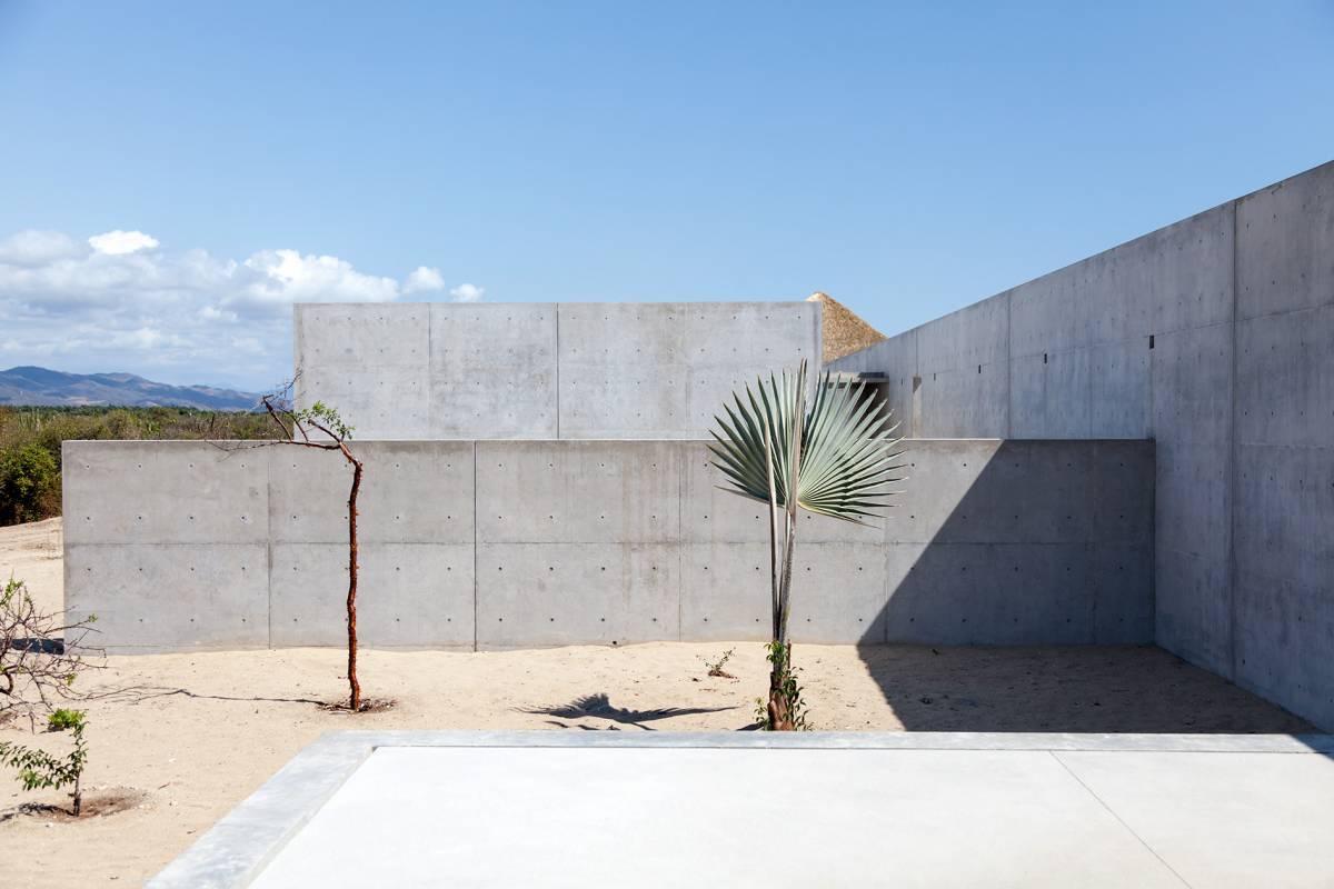 Casa Wabi exterior gallery view.