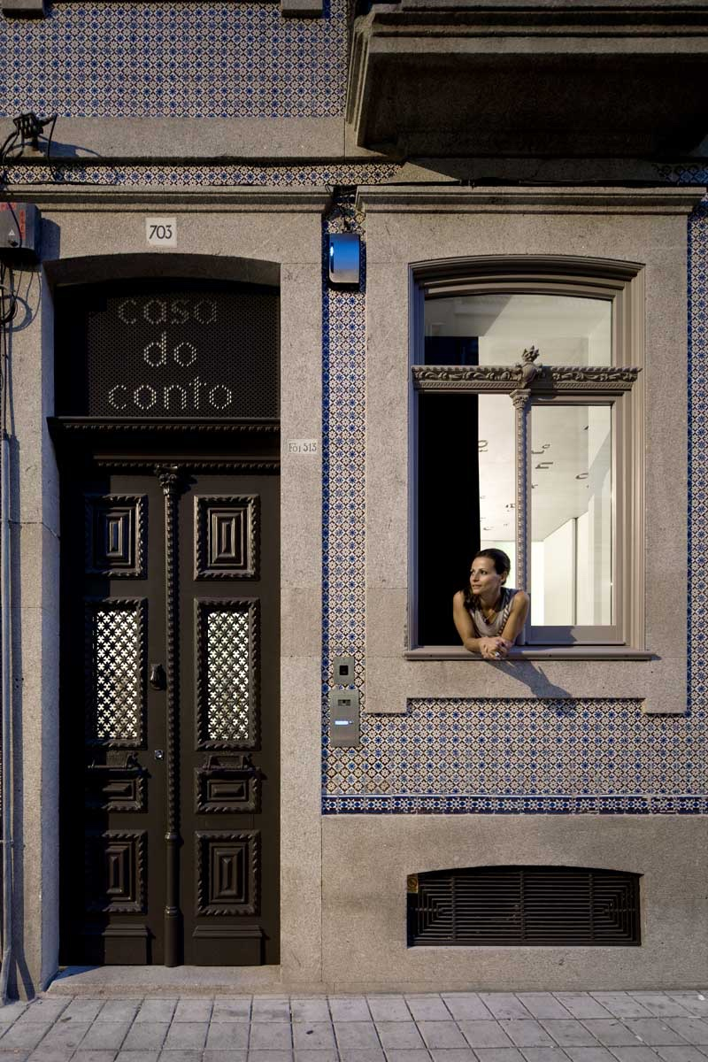 Casa do Conto doorway