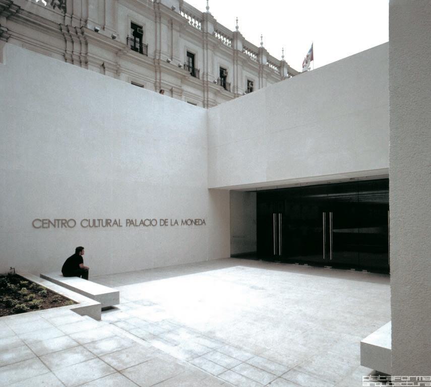 Centro Cultural Palacio La Moneda, Santiago