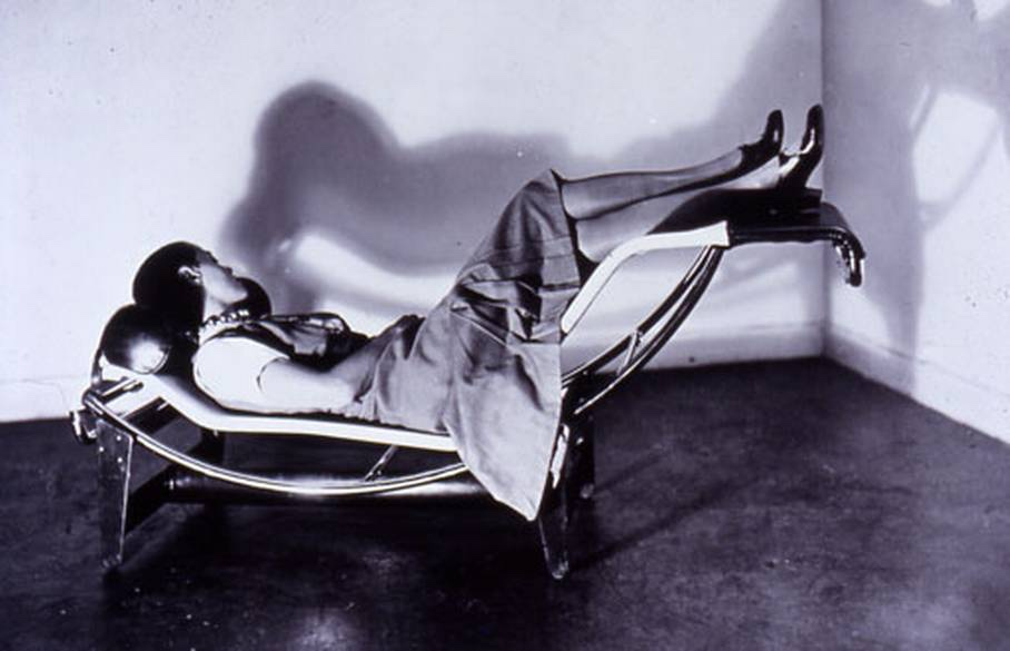Charlotte Perriand on the B306 Chaise Longue