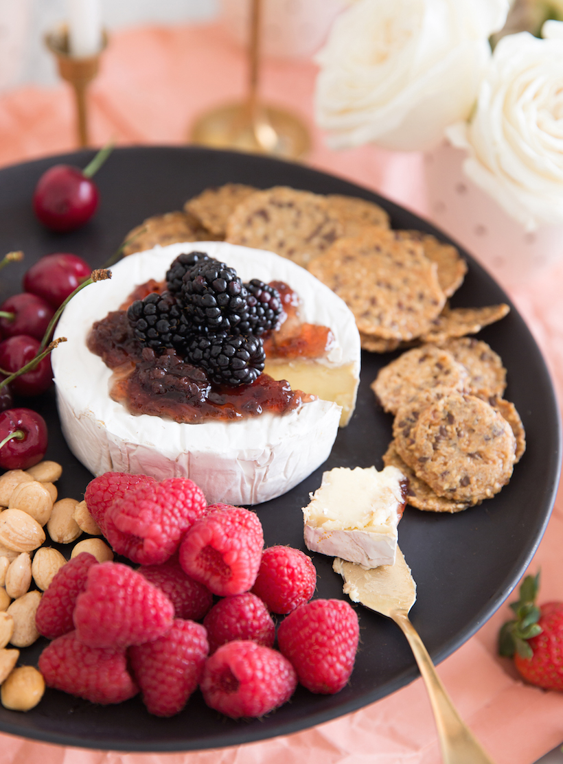 Cheese plate from Camille Styles