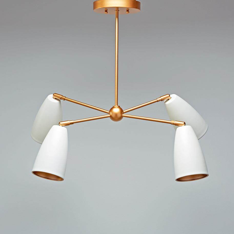 Chic pendant lamp from The Land of Nod