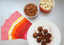 Chocolate truffles and Valentine's Day treats