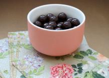 Chocolates and elegant napkins