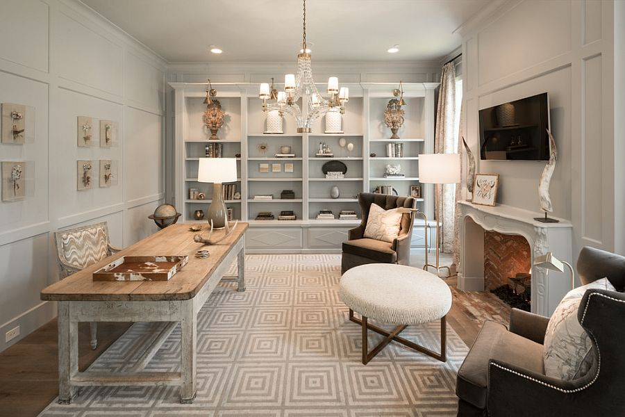 Contemporary and shabby chic styles rolled into one [Design: Thompson Custom Homes]