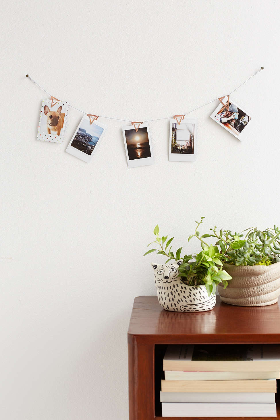 Copper photo clip banner from Urban Outfitters