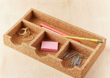 Cork desk tray from Urban Outfitters