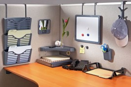 diy cubicle organization - Cubicle Design Ideas