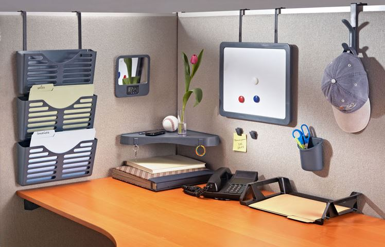 Cubicle Organization Is Key Decoist