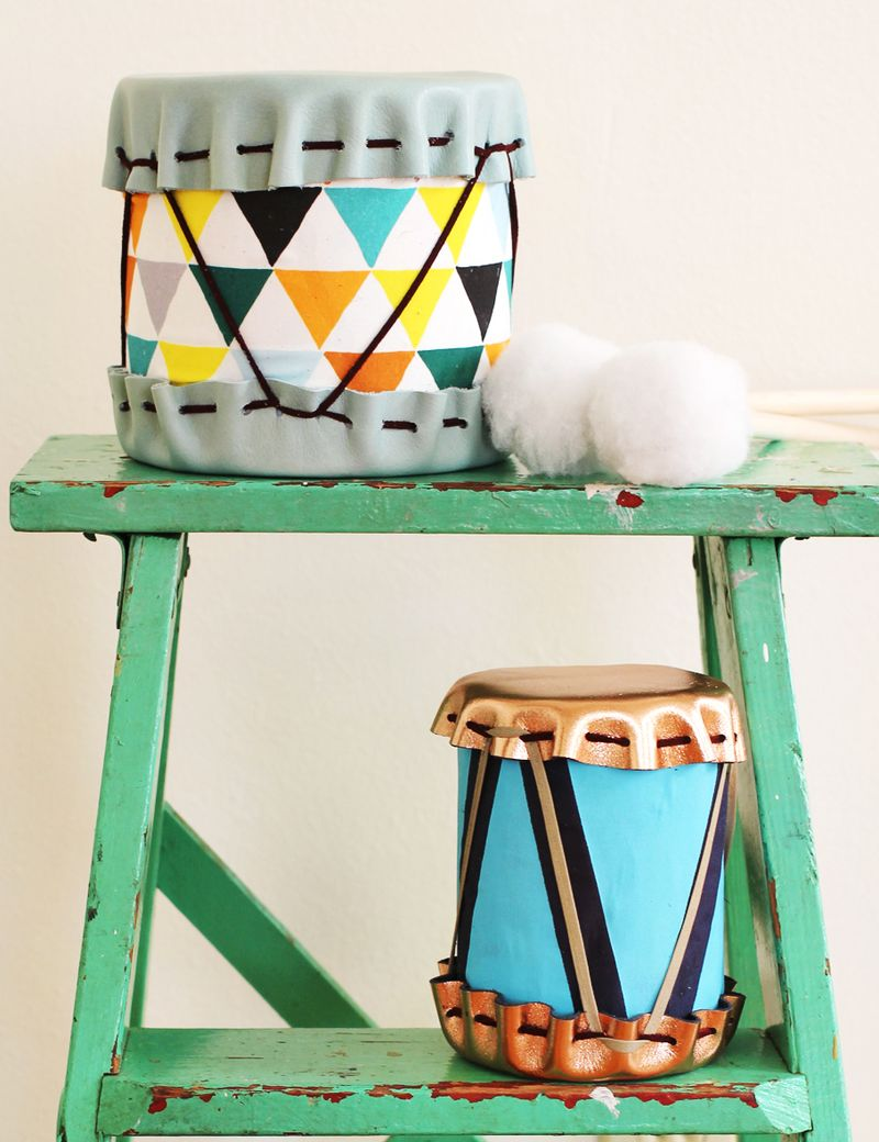 DIY kids' drums from Skunkboy