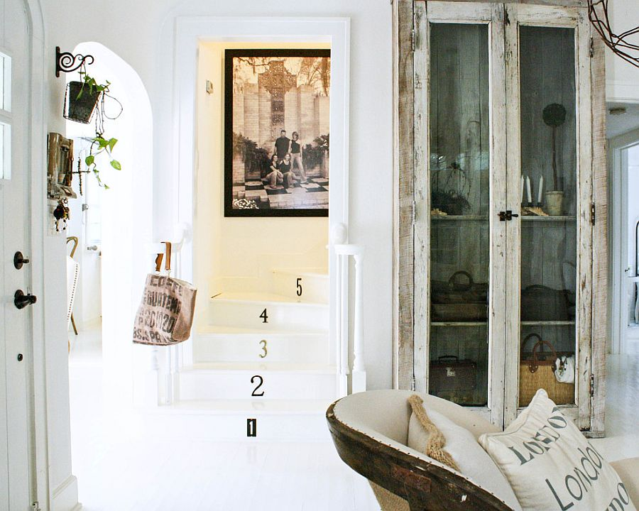 Decor, artwork and vintage accessories create a cool, shabby chic style [From: Mina Brinkey]