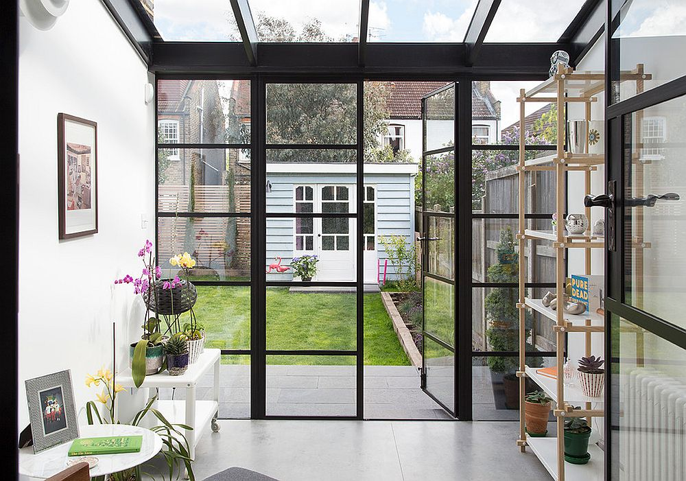 Scandinavian sunrooms an infusion of style and serenity - Porte fenetre style industriel ...