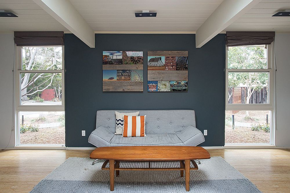 Design of the family space is simple and unassuming