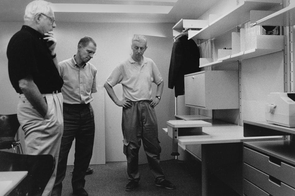 Dieter Rams, Mark Adams, Peter Wheeler