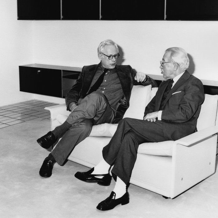 Dieter Rams and Niels Vitsœ