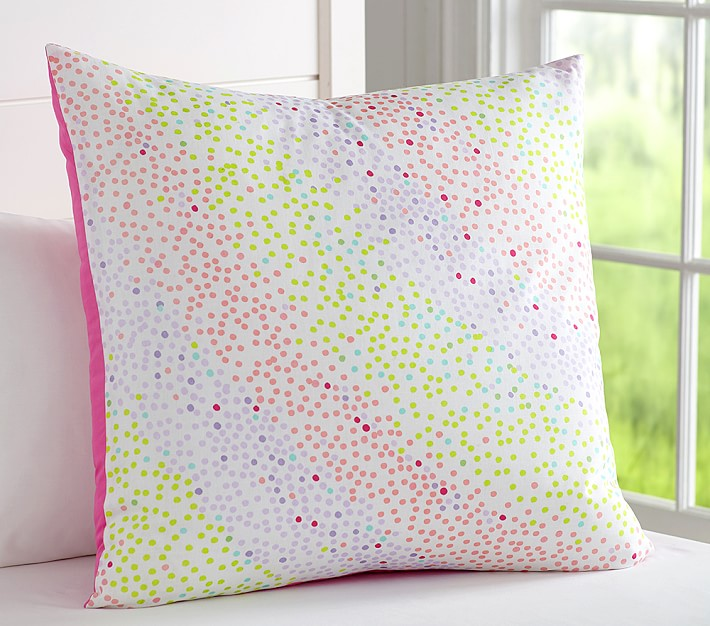 Dot pillow from Pottery Barn Kids