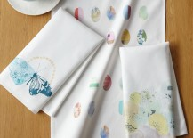 Easter tea towels from West Elm
