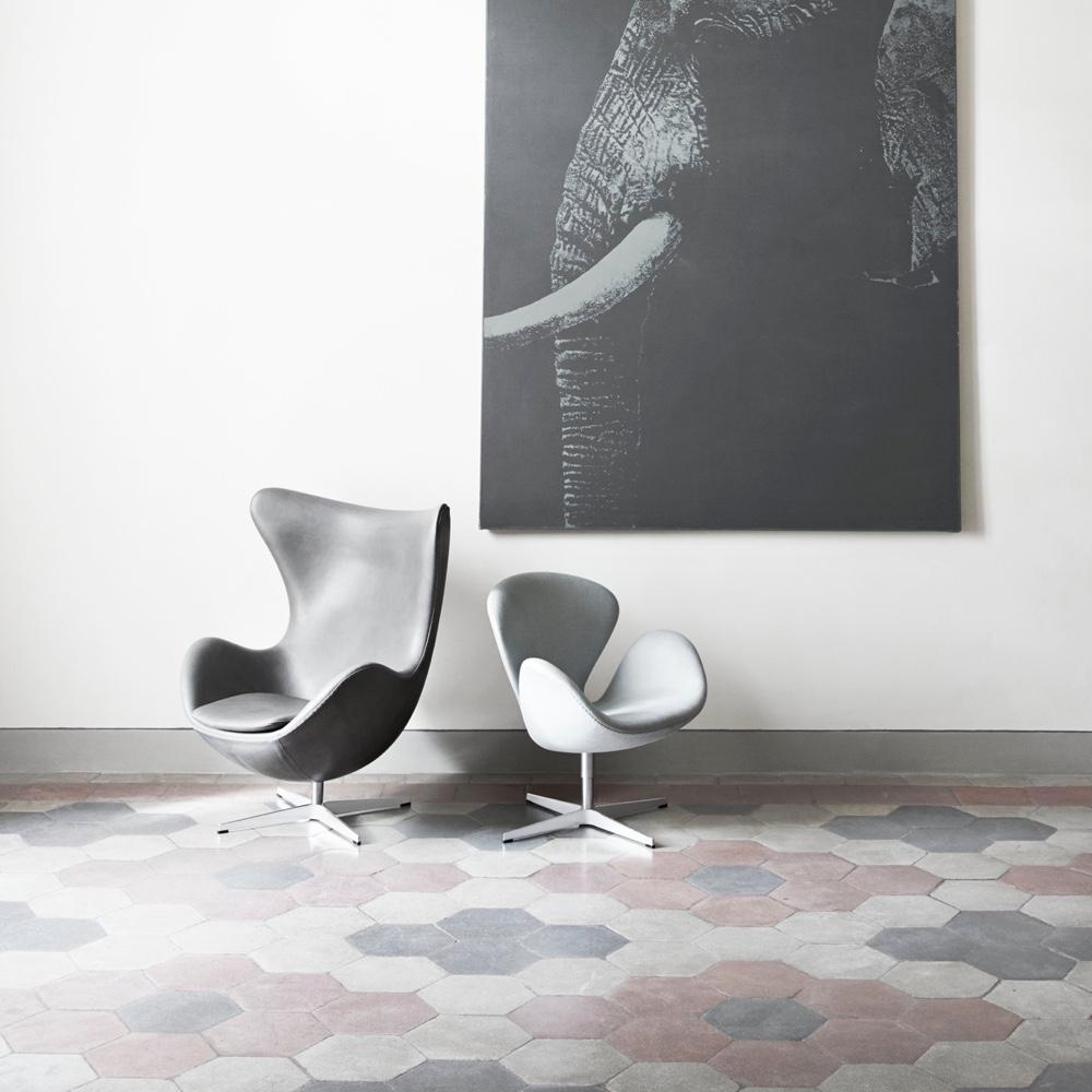 Egg & Swan chairs