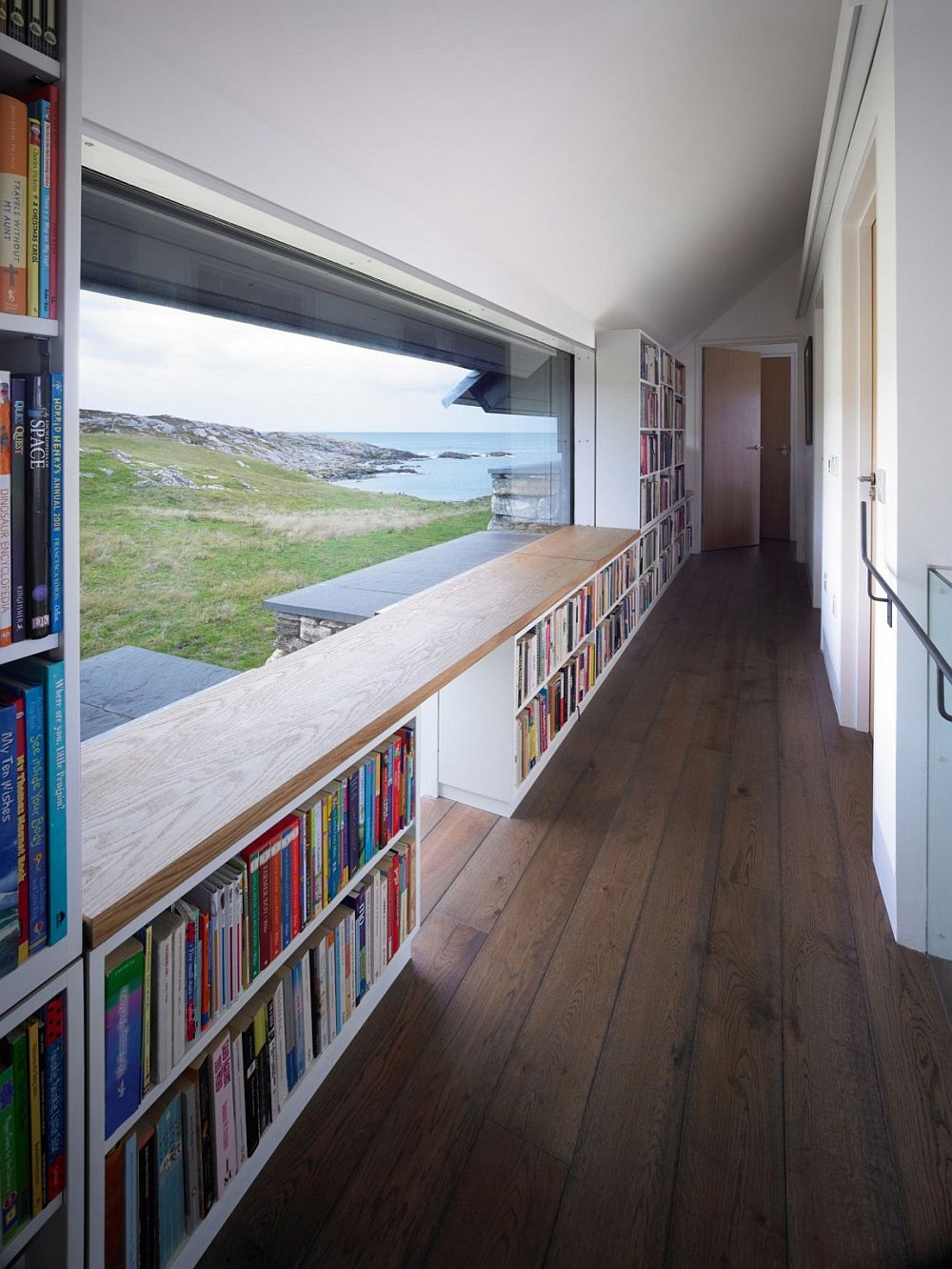 Exquisite ocean view from the top level of the home in Grishipoll, Isle of Coll, Argyll and Bute